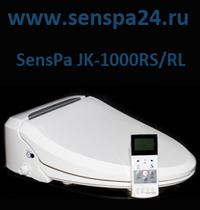 Фото электронная автоматическая крышка биде на унитаз сенспа SensPa JK-1000 RS/RL