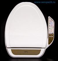 Фото электронная автоматическая крышка биде на унитаз сенспа SensPa JK-900 WS/WL