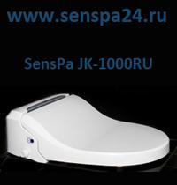Фото электронная автоматическая крышка биде на унитаз сенспа SensPa JK-1000 RU премиум